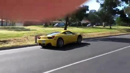 Ускорение на Ferrari 458 Italia