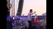 Tiesto развя българското знаме на Solar Summer Festival 2011