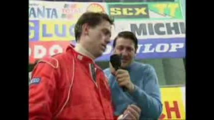 Интервю с Шумахер - Щастлив ли си?