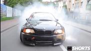 Crazy Street Racing (drifting) Bmw E46 M3 [hd]