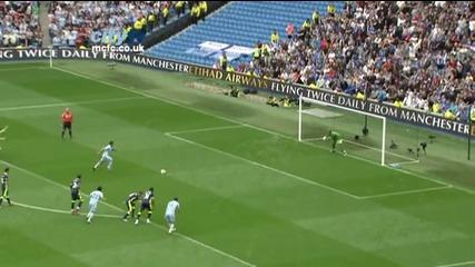 Феноменална игра и 3:0 за Манчестър Сити над Уигън (хеттрик на Агуеро)
