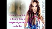 Jennifer Lopez feat. Pitbull- On The Floor [karaoke/instrumental]