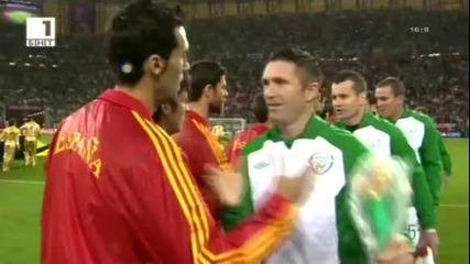 група C - Испания 4:0 Ейре (европейско - 14.06.2012)