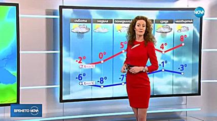 Прогноза за времето (23.02.2019 - обедна емисия)