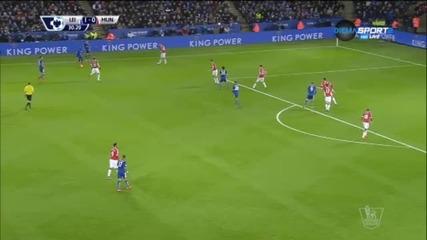 ВИДЕО: Лестър - Манчестър Юнайтед 1:1