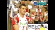 Poland vs. France - Set 3! (turkey Evc 2009 Final)