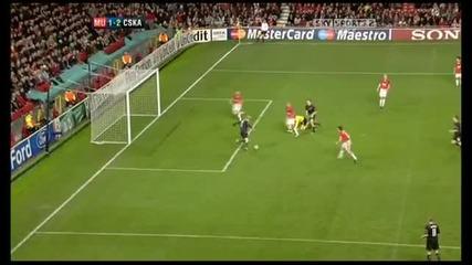 Manchester Utd vs Cska Moscow (3 - 3)