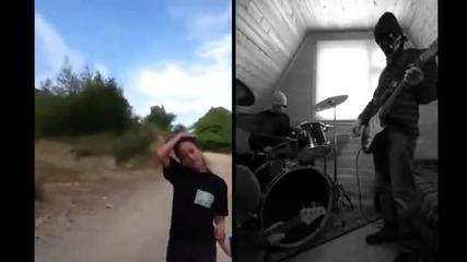 красивая грузинская песня - трио Мандили - апарека Rock Version