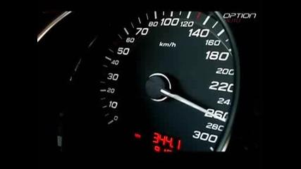 Audi S8 Ускорение До 280 Kм/ч