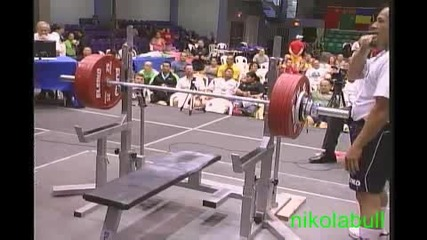 Ив. Христов - 305.0 кг на Световното по силов трибой