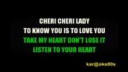 Modern Talking - Cheri Cheri Lady (karaoke)