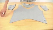 Интересен номер с мацка и тениска