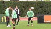 Селекционерът на Португалия вярва в Роналдо
