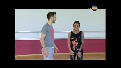 Dancing Stars - Елена Георгиева и Деан джайв (13.05.2014г.)