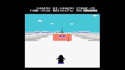 Antarctic Adventure Nes Full Gameplay pomnite li tazi igra