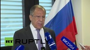 Austria: Lavrov says US expected to abandon Europe AMD plans now Iran deal struck