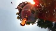 Момче заснема своето пързаляне с помоща на Samsung Gear 360 - получава се интересен ефект