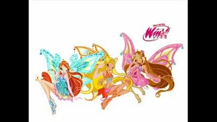 Супер яки снимки на Winx с песен от албума на Winx
