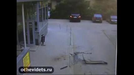 Много пиян руски шофьор