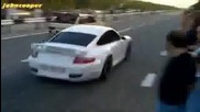 Porsche 911 Turbo vs Ваз 2108 sti