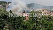 """""""Моята новина"""": Стара къща горя в центъра на Велико Търново"""
