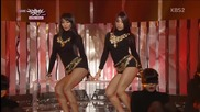 130201 Sistar19 - A Girl in Love + Gone not around any longer @ Music Bank
