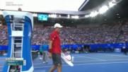 Roger Federer v. Kei Nishikori Ao 2017 R4 Highlights