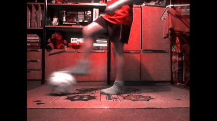 Футболни трикове част.2
