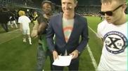 Футболист ритна журналист от радост