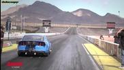 Бруталната мощ на два Mustang-а