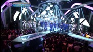 Bts & Boyfriend - We are the Future + Turn Around and Look at Me @ 141231 Mbc Gayo Daejun