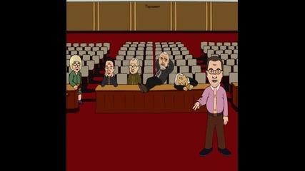 Смазващ Harlem Shake в Парламента
