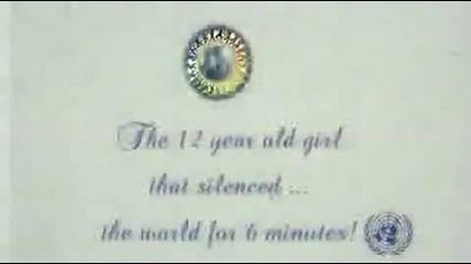 12-годишно момиче накара света да млъкне за 6 минути