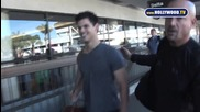 Taylor Lautner Gets Groped at Airport_