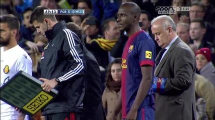 Дългоочакваният и специален момент за всички фенове на Барселона