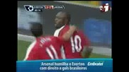 Евертън 1 - 6 Арсенал