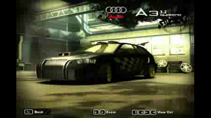 Nfs Most Wanted Audi A 3