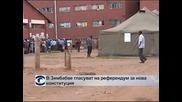 В Зимбабве гласуват на референдум за нова конституция