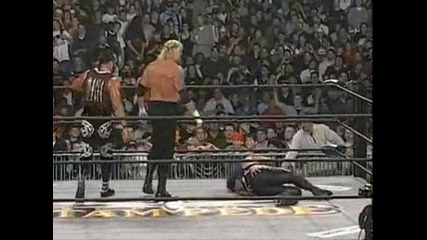 Wcw - Hulk Hogan vs. Ddp vs. Sting vs. Ric Flair (c) (spring Stampede 1999)