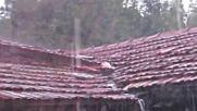 Проливен дъжд в Разград