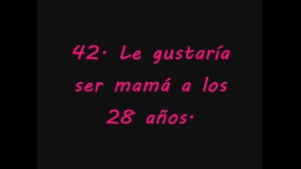 54 cosas que no sabias de Dulce Maria/54 неща които не знаем за Дулсе Мариа