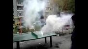 Малко дим в квартала ;)