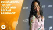 Zoe Saldana makes political waves in Tinseltown