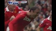 Феноменален гол на Бербатов срещу Ливърпул! 19.09.10 Hd