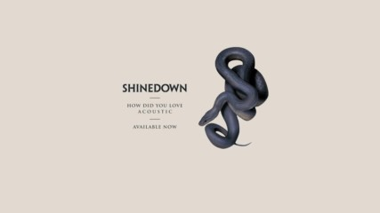 Shinedown - How Did You Love ( Acoustic) ( Official Audio)