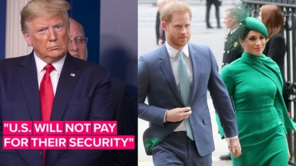 Тръп отказва Америка да плаща за охраната на Меган и Хари