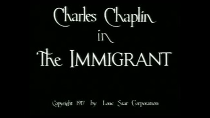 Charlie Chaplin in The Immigrant (1917)