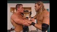 Wwe - Edge И John Cena (преди Години)