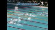 Рекордно Плуване На Катя Аврамова 50м Гръб