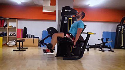 90 дневна трансформация | Изграждане на мускул, горене на мазнини | Ден 23 - Крака